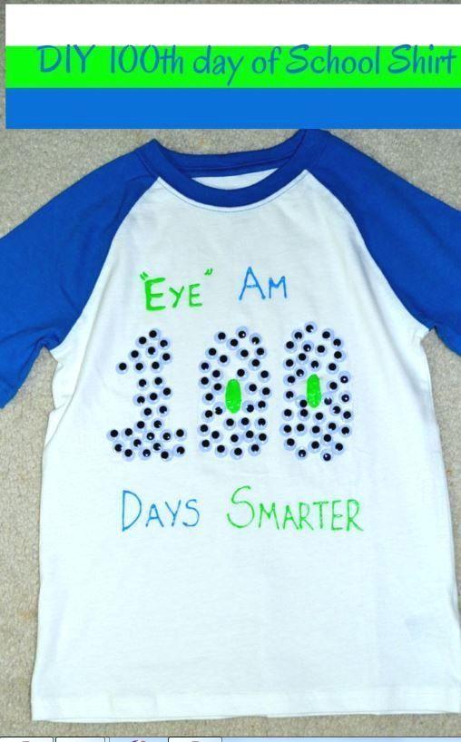 25 BEST 100 DAYS OF SCHOOL SHIRT IDEAS