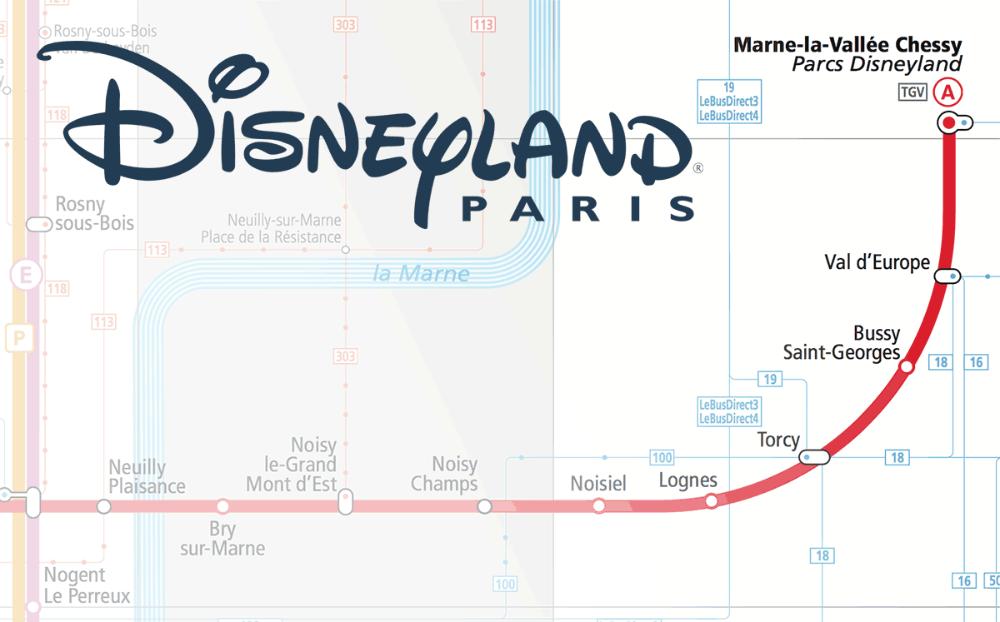 How Do I Get From Paris To Disneyland Paris