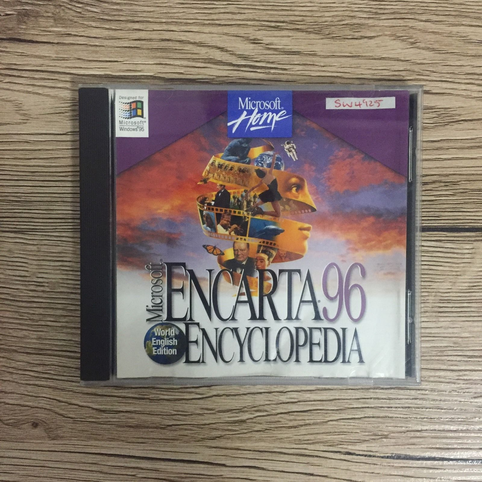 Microsoft Encarta Encyclopedia 96 Windows 95 PC CD ROM ...