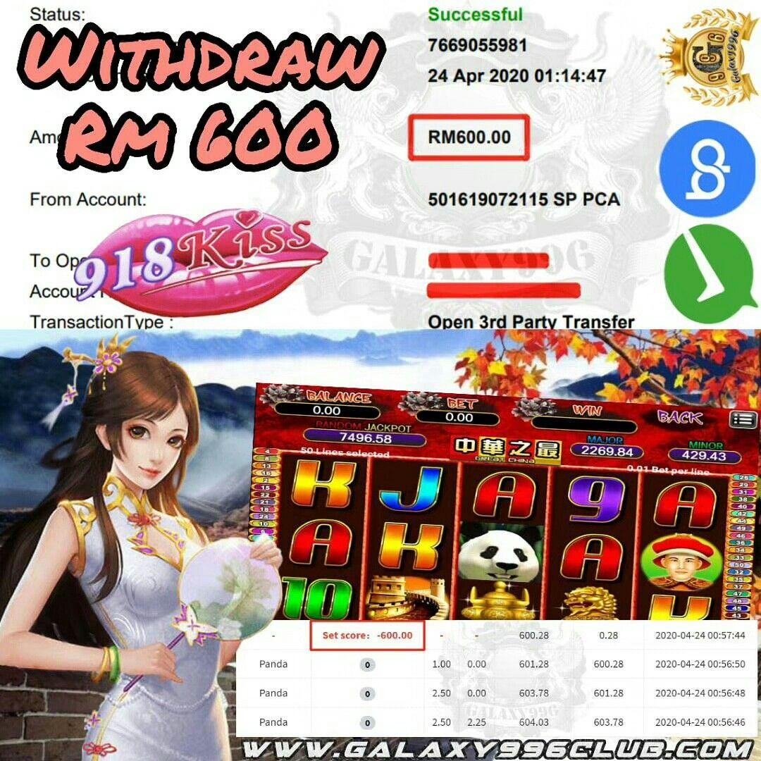 918kiss great china in 2020 slots games jackpot ang pao