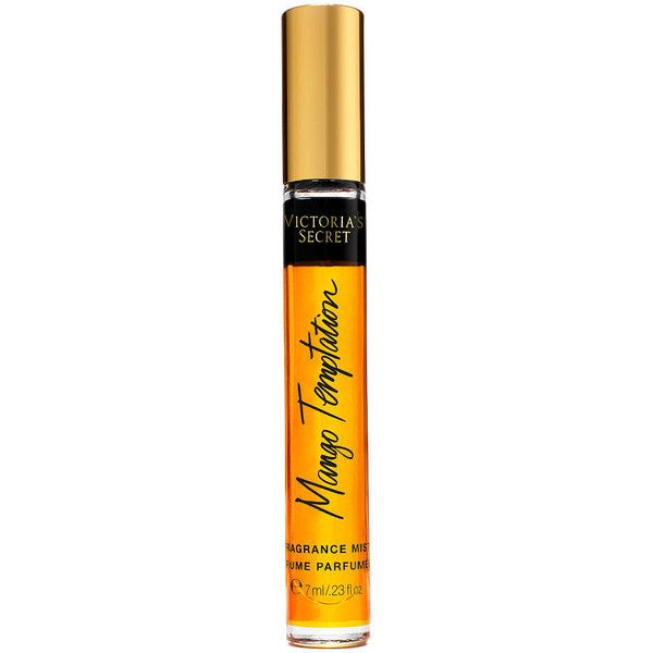 6a2910e2eb Victoria s Secret Mango Temptation Mini Fragrance Mist (33 BRL) ❤ liked on Polyvore  featuring beauty products