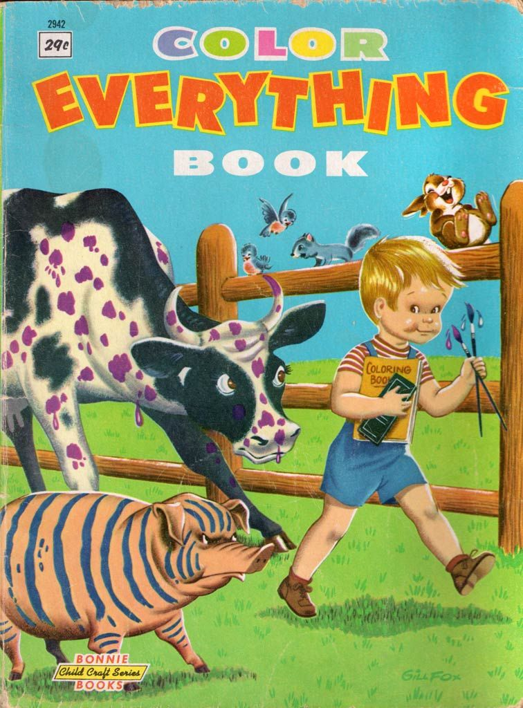 Color Everything Book