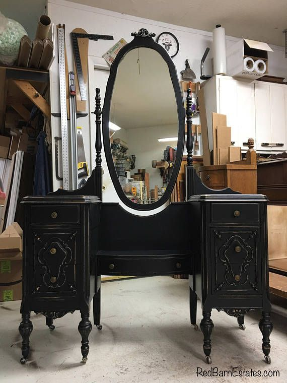 MAKEUP VANITY In Your Color! Order Your Own Antique Vanity - Shabby Chic - Custom Painted Vanity GORGEOUS images
