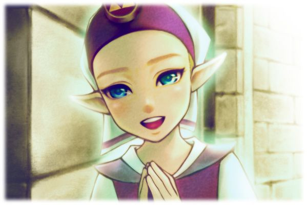 This is adorable! Child Princess Zelda (from Zelda: Ocarina of Time)