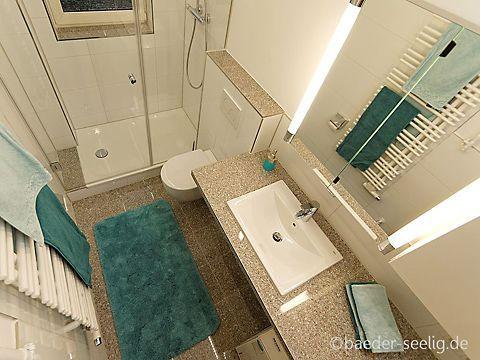 Kleines Badezimmer Mit Waschmaschine 4 Qm Bader Seelig Bad