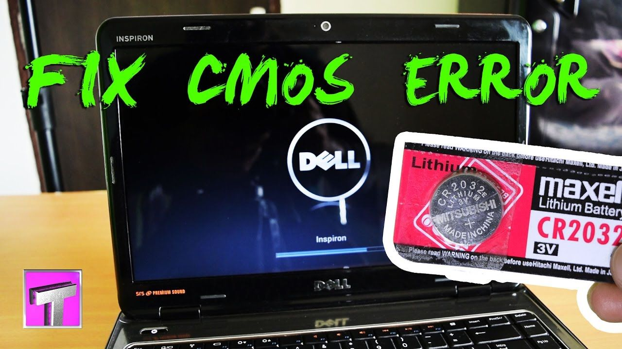 Dell Inspiron n4010 CMOS Battery Replacement (Solve Cmos