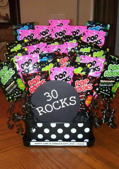 30 ROCKS! Happy 30th Birthday! :) | Appreciation Gifts ...