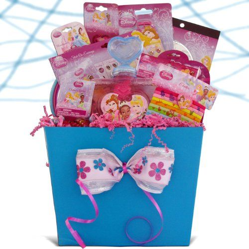 Disney Princess Accessory Gift Basket Perfect Easter Gift Baskets for Girls Under 10 $49.99