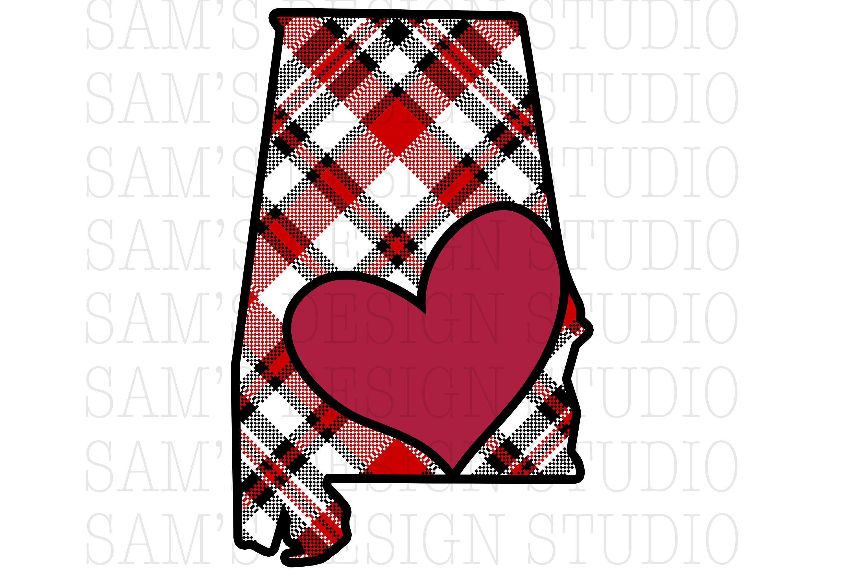 Alabama Sublimation Designs Downloads , Alabama State PNG