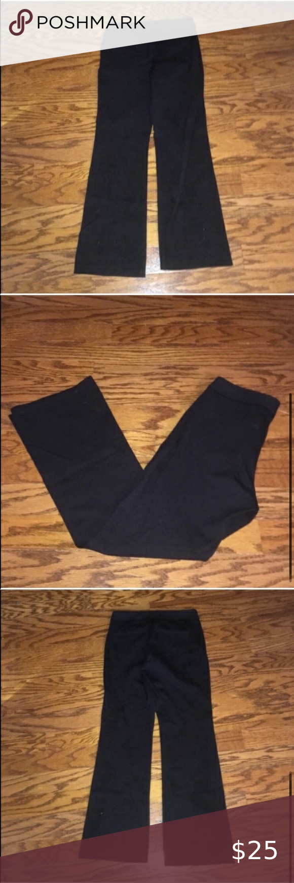 Women S Nydj Black Trouser Work Pants Not Your Daughter S Jeans Black Dress Pants Work Wear Office Wear Professional P Dress Pants Black Dress Pants Work Pants [ 1740 x 580 Pixel ]