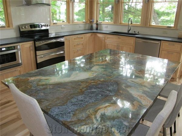 Again, Something Lighter Might Be Better. Louise Blue Quartzite.
