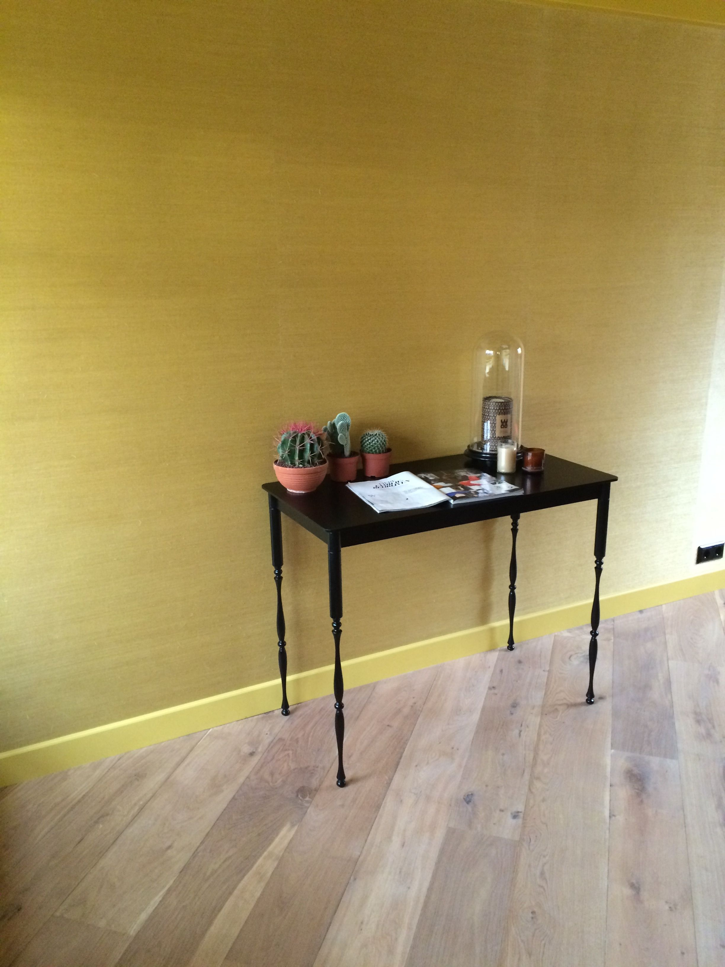 The Secretaire in the yellow room.