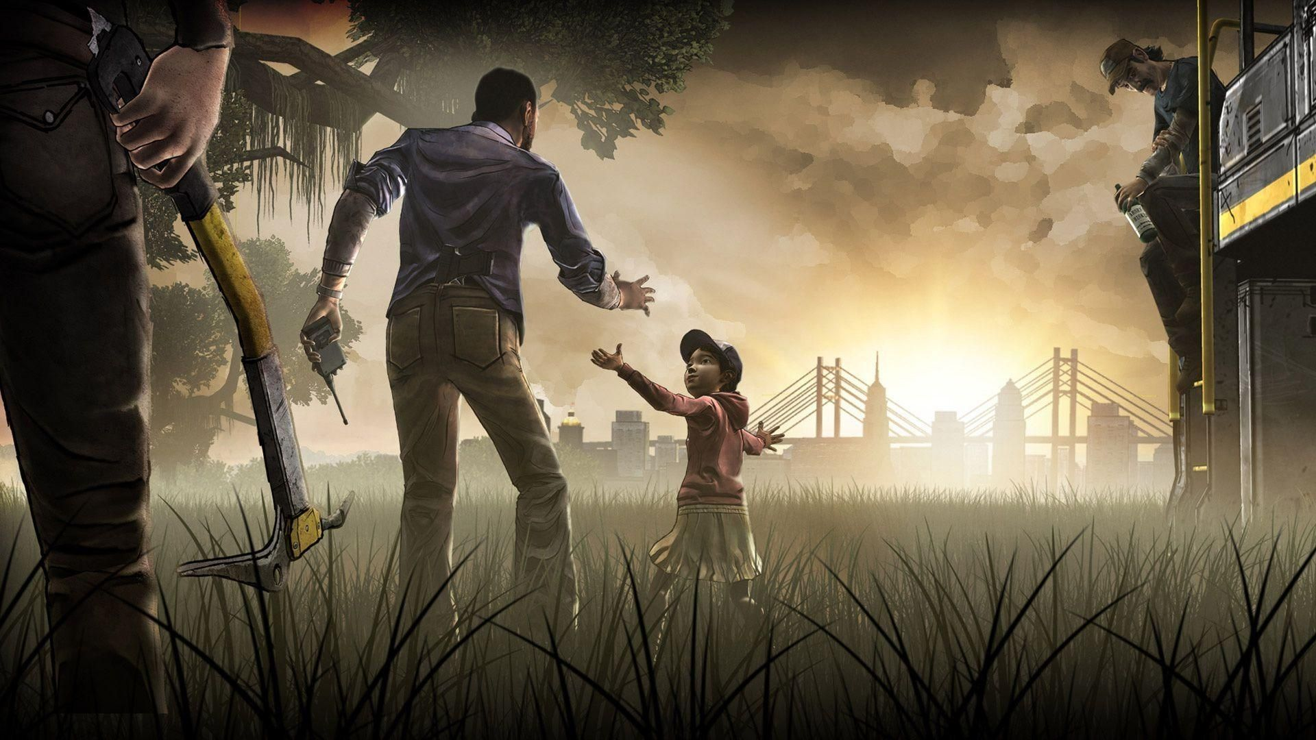 10 Latest Walking Dead Game Wallpaper Full Hd 1080p For Pc Desktop