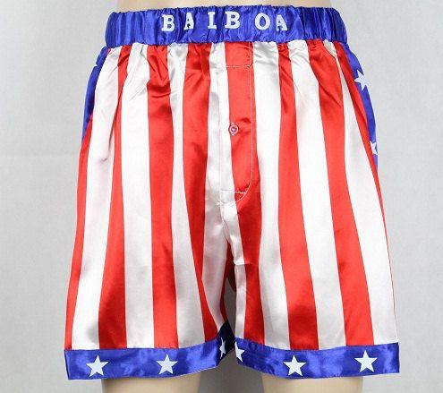 Rocky Balboa Apollo Short America Flag By Banetdkr On Etsy 11 90 Rocky Balboa Costume American Flag Shorts Light Grey Sweatshirt