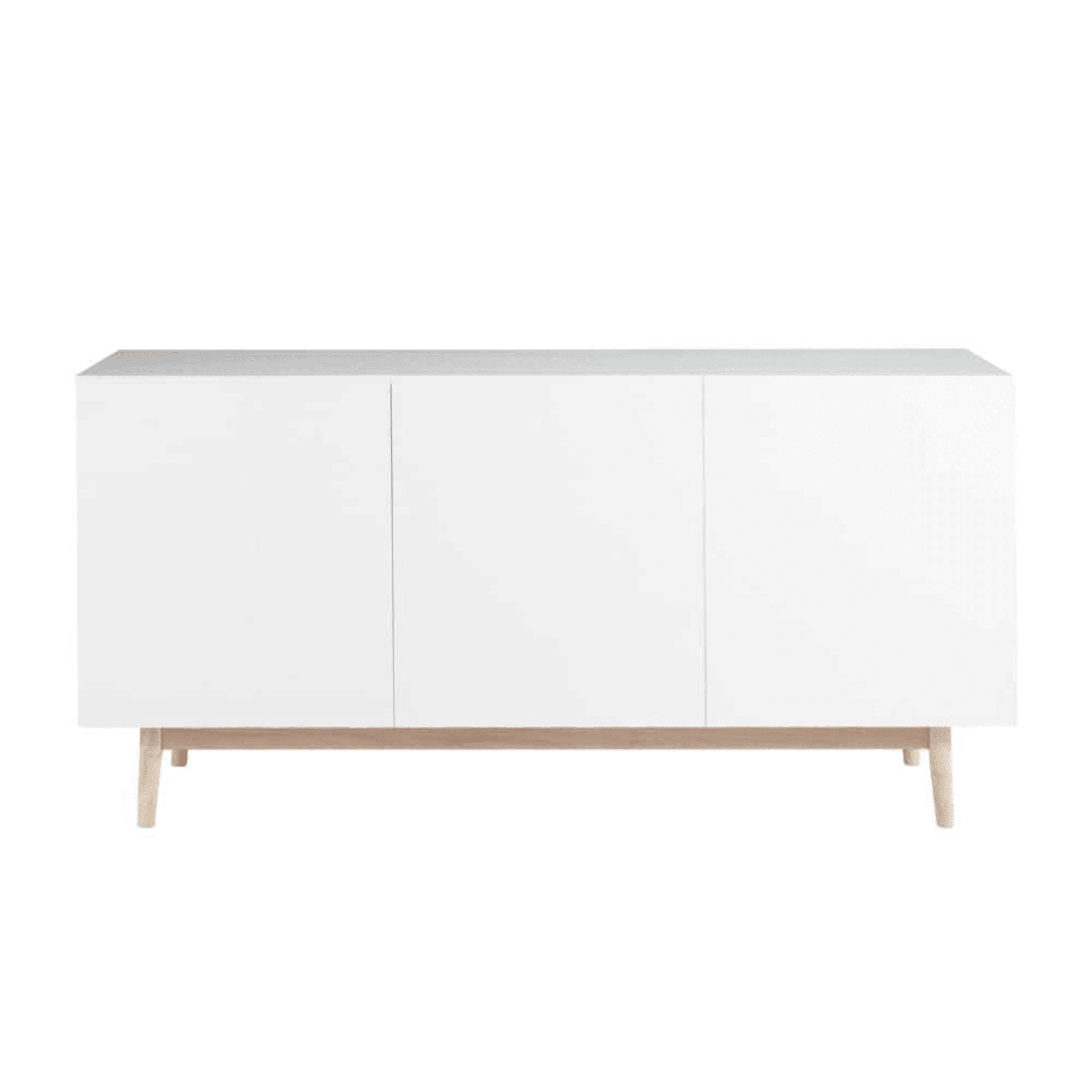 Sideboard Wohnzimmerschrank Kommode Deviso 160 Cm Breit Weiss Eiche Westminster Ebay In 2020 Wohnzimmerschranke Weisse Eiche Anrichte Weiss