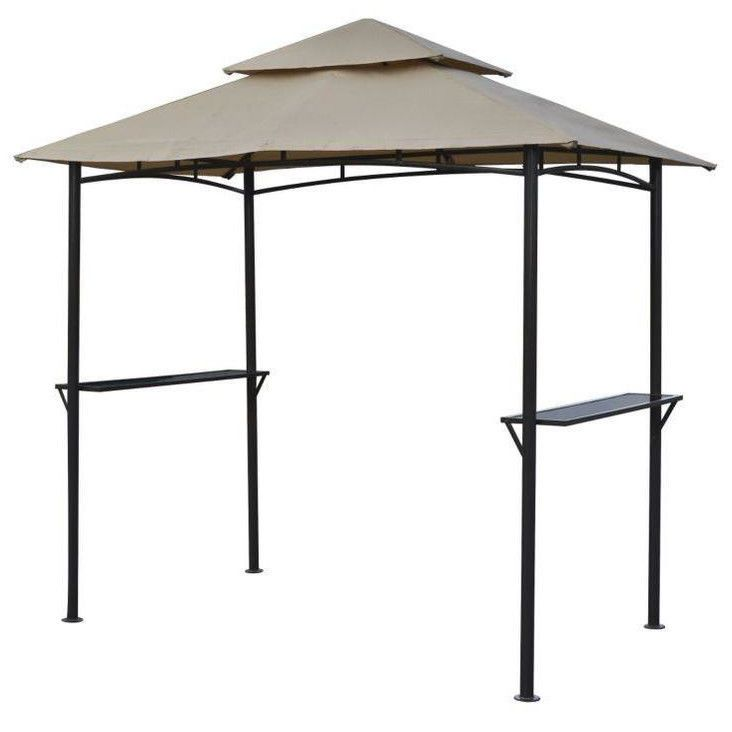 GAZEBO BBQ Outdoor Garden Patio Rain Sun Cover Shelter Shade  sc 1 st  Pinterest & GAZEBO BBQ Outdoor Garden Patio Rain Sun Cover Shelter Shade ...