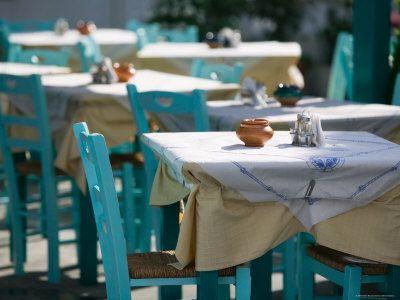 color - chairs- wow - Samos - Kokkari