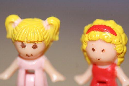 Polly Pocket figurines