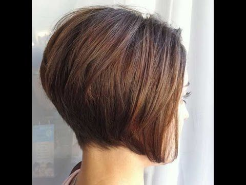 How To Cut An Asymmetrical A Line Short Hairstyles You