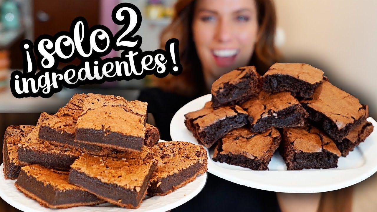 Brownies Con Dos Ingredientes 2 Recetas Diferentes Dacosta S Bakery Videos De Comida Postres Recetas De Comida Fáciles Harina Para Pastel