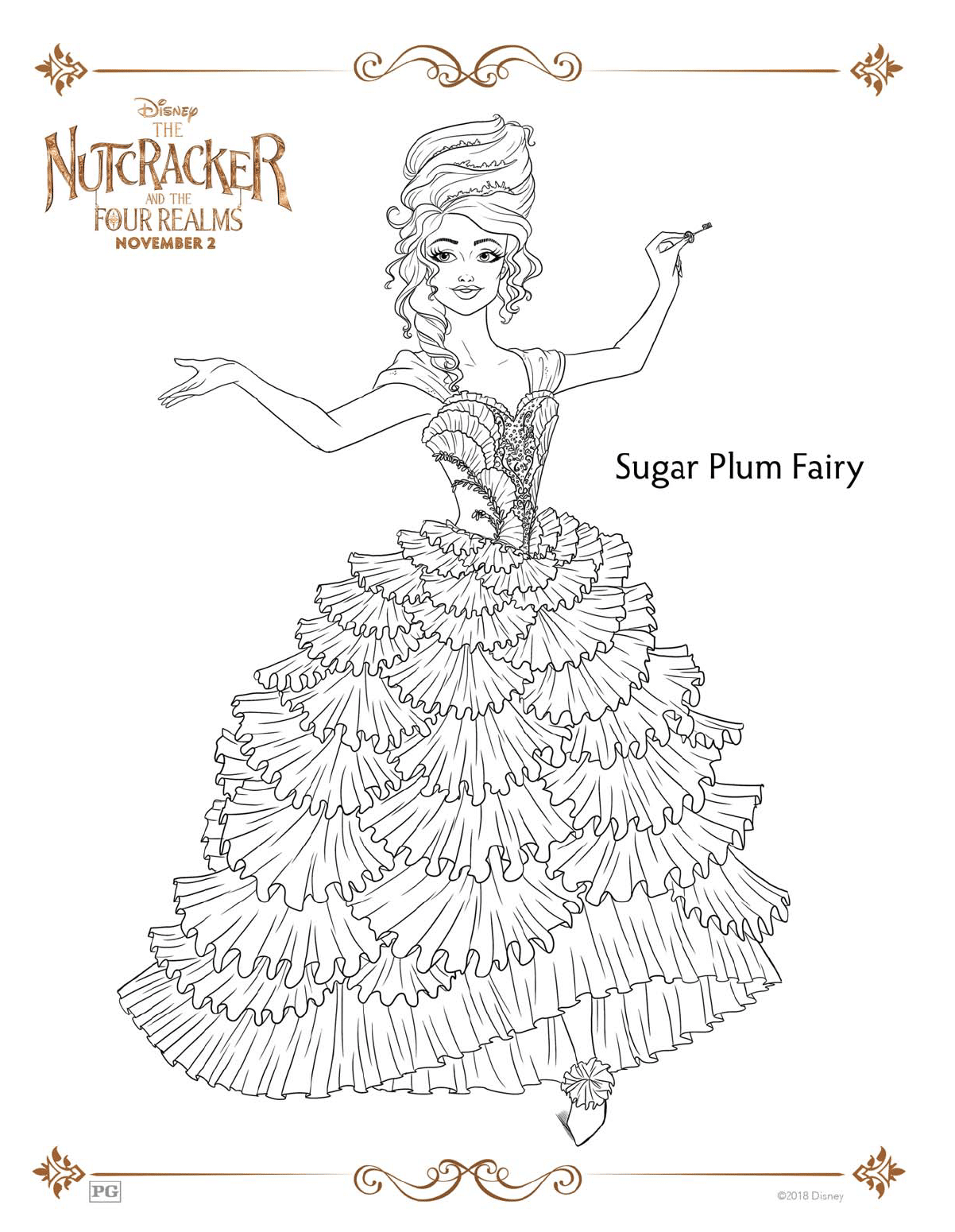 Grab Your Fresh Coloring Pages Nutcracker For You Https Gethighit Com Fresh Coloring Pages Nutcrack Fairy Coloring Fairy Coloring Pages Free Coloring Pages