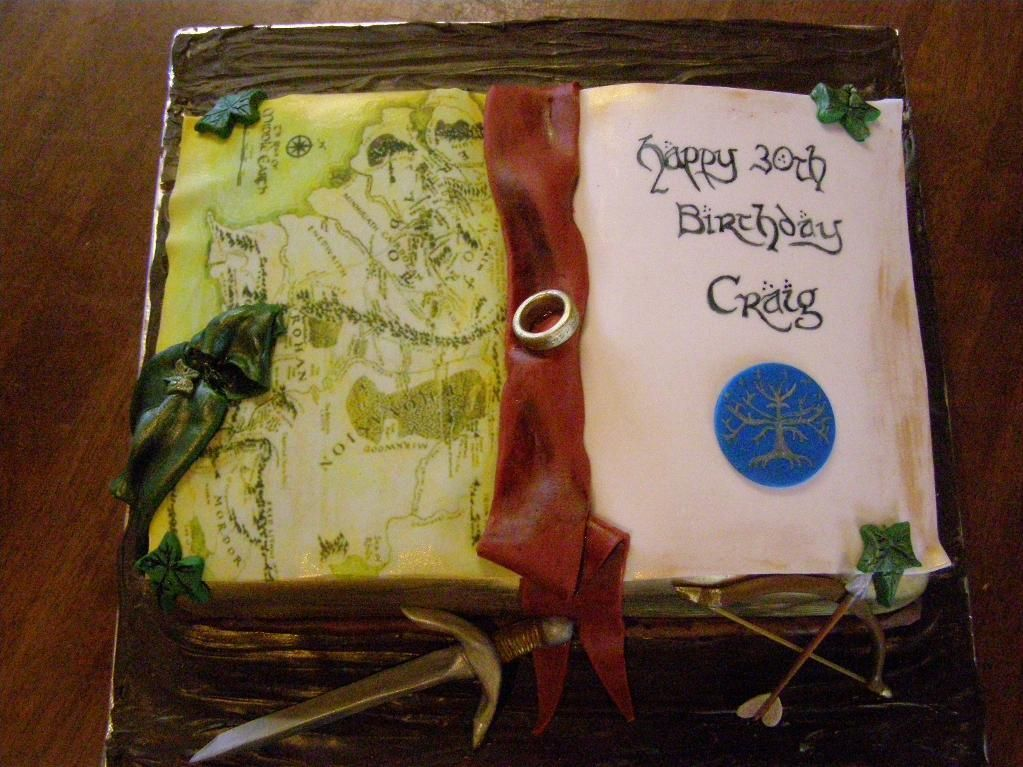 Map For Lord Of The Rings%0A Lord of the Rings Cake project on Craftsy com  I like the Nazgul u    s cloak
