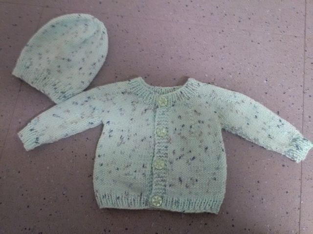 Photo of Perfect Baby Boy or Girl Top Down DK Jacket