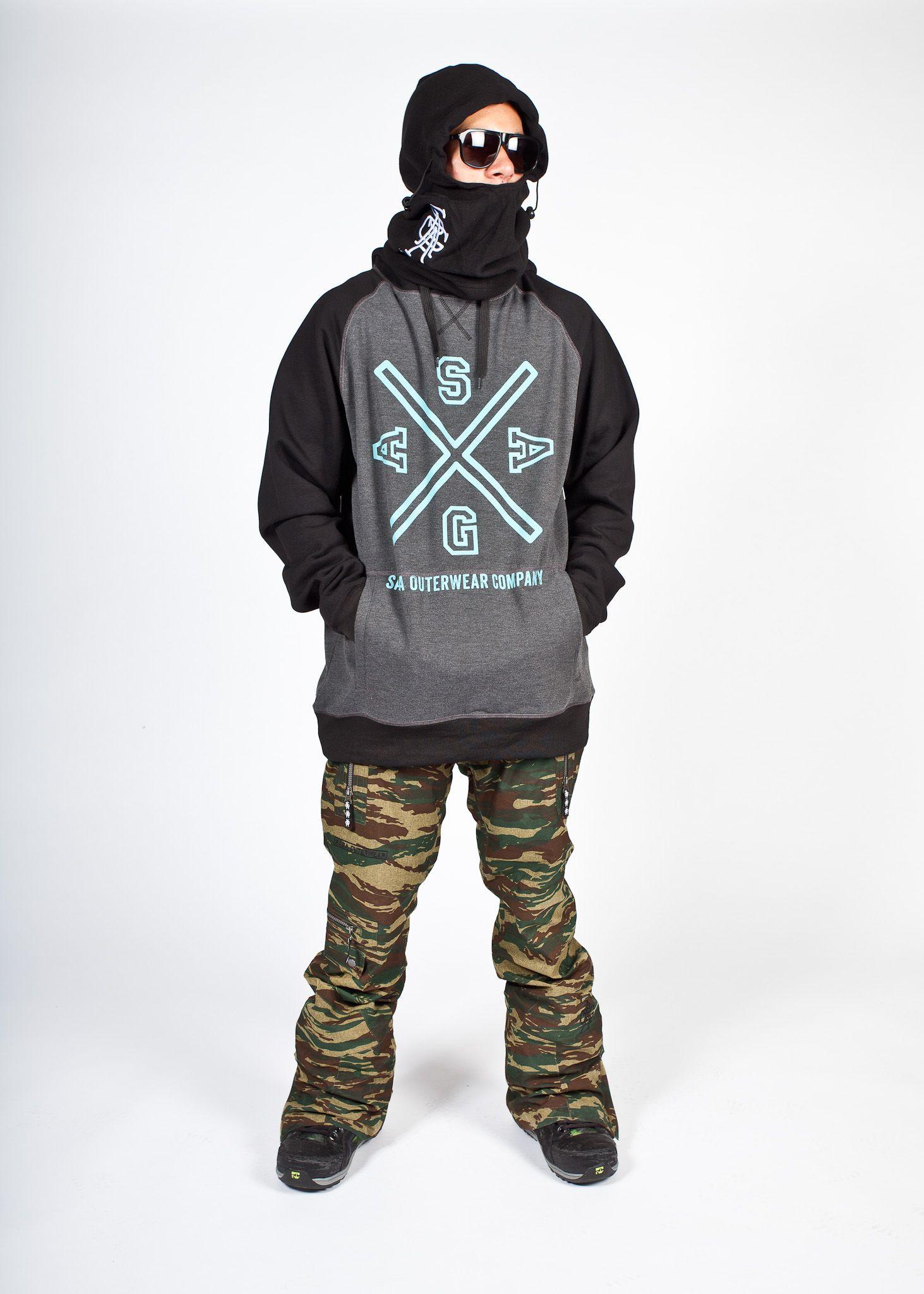Saga Outerwear Top Crest Pullover Pant Fatigue 2l Camo Saga Outerwear Outerwear Skiing [ 2048 x 1463 Pixel ]