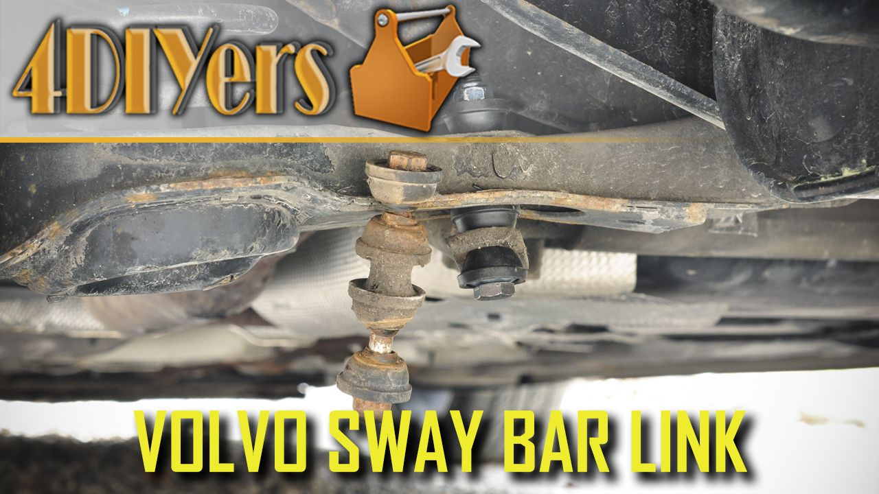 How To Replace The Rear Sway Bar Links On A Volvo C30 S40 V50 C70 Volvo Volvo C30 Volvo C70