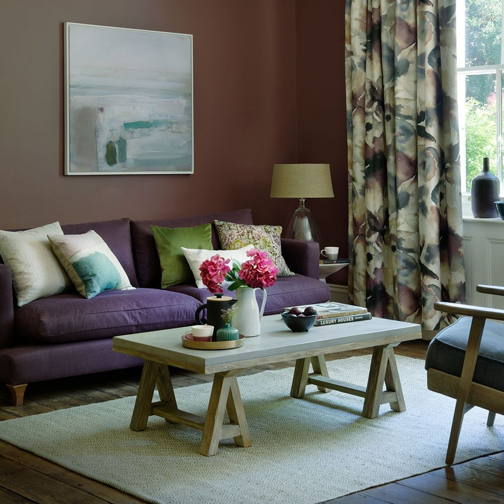 Purple And Brown Living Room Purple Living Room Elegant Living Room Purple Living Room Furniture