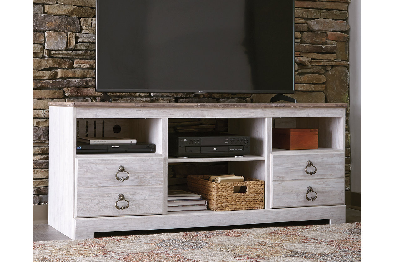 Willowton 64 Tv Stand Fireplace Tv Stand Tv Stand Ashley