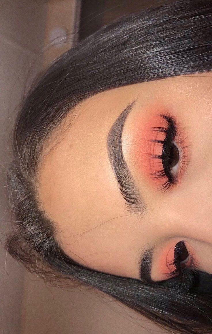 pfirsichrosa Lidschatten mit langen Wimpern natürliche Augenbraue #EyeLashesGrowth #naturalbrows #Augenbraue #EyeLashesGrowth #Eyeshadow Looks long lashes #langen #Lidschatten #mit #Natürliche #Pfirsichrosa #Wimpern peachy pink eyeshadow with long false lashes natural brow #EyeLashesGrowth pfirsichrosa Lidschatten mit langen Wimpern natürliche Stirn #EyeLashesGrowth #naturalbrows
