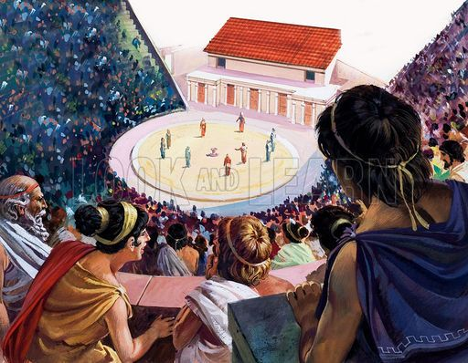 ancient greek theater performance - Google Search | New Art Form ...