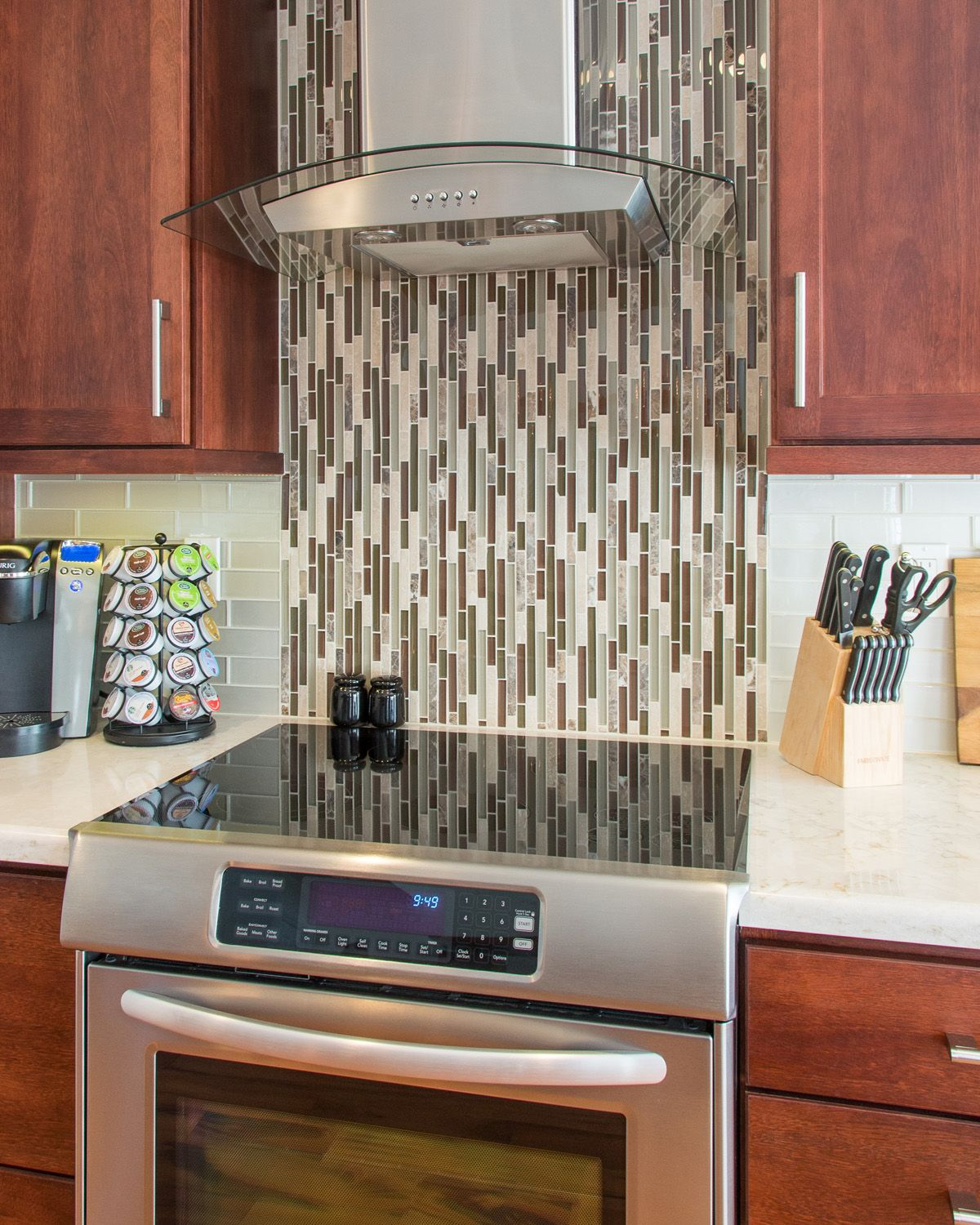 Charming Waterfall Backsplash Part - 4: Check Out The Waterfall Backsplash In This #SanDiego #kitchen #remodel! Www.