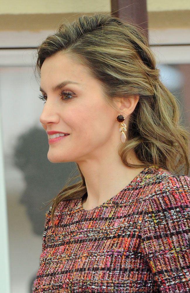 Queen Letizia attends the Royal Board on Disability meeting. 21 Mar 2017