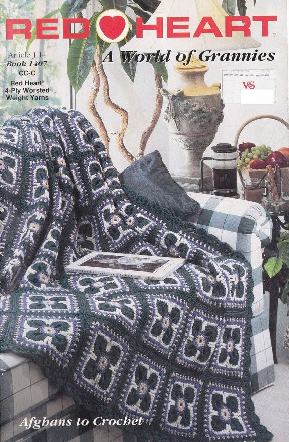 Granny Square Afghan Crochet Patterns - Red Heart\'s World of ...