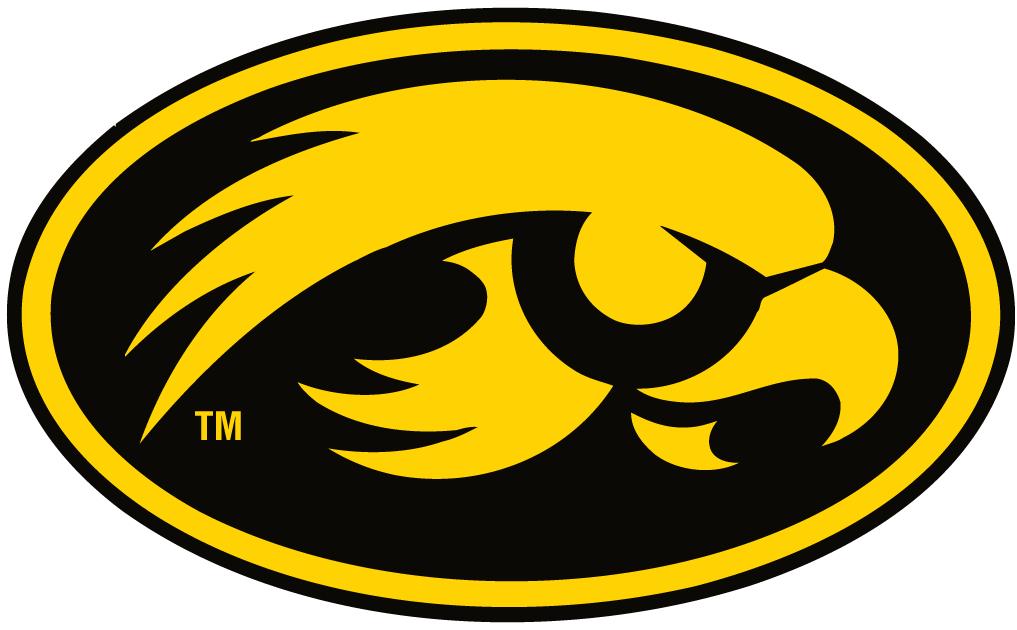 Iowa Hawkeyes Alternate Logo 1999 Iowa Hawkeyes Logos Soccer Logo