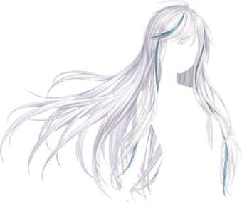 War In Winter Hair Png Manga Hair Anime Hair Chibi Hair