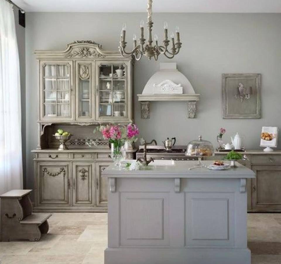 Französisch Stil Küchen, Inneneinrichtung, Traumküchen, Rustikale Küchen, Französischer  Landhausstil, Landhaus Chic, Ideen Für Die Küche, Vintage Küchen, ...
