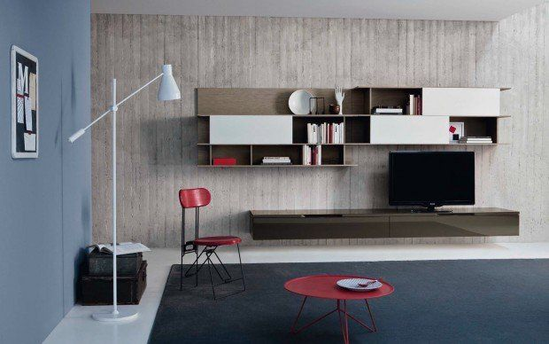 san giacomo tv wand lampo l2 05 modernes wohnen pinterest wohnzimmer tv wand und tv hifi. Black Bedroom Furniture Sets. Home Design Ideas