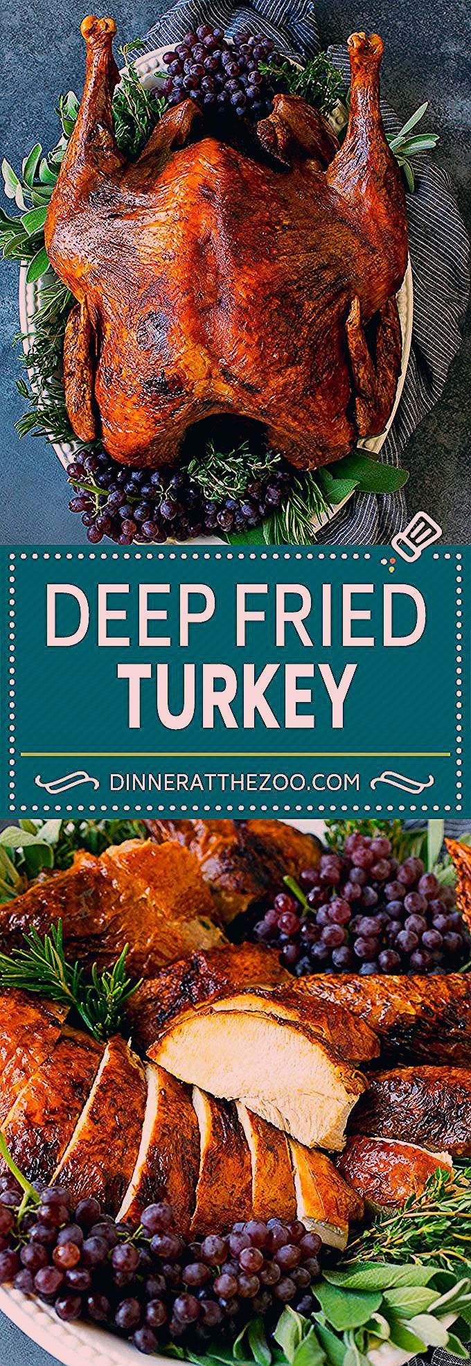 Deep Fried Turkey Recipe Thanksgiving Turkey turkey