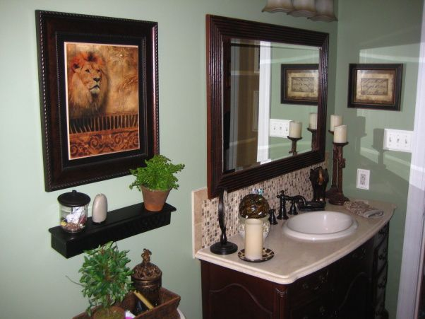 Safari Bathroom | My Safari Sanctuary, This Is The Family Bathroom Is Our  Small Ranch