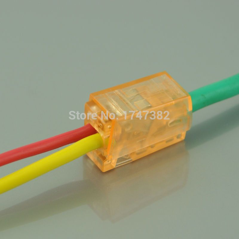 10PCS kit 224-112 PCT-112 2 pin cable wire wiring connecting ...