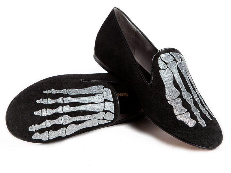 Jem+Skull+Slipper+-+Black+