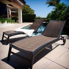 Rst Outdoor Zen Chaise Lounger Set Of 2 Buy Modern Outdoor