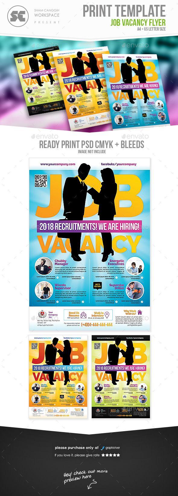 Job Recruitment Flyer Flyer Template Flyer Design Templates And