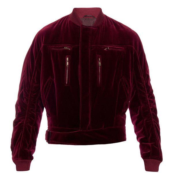 Kanye West Watches Movie With Family Wearing Haider Ackermann Bomber Jacket Upscalehype Velvet Jacket Men Single Clothing Jackets