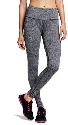 Legging de Sport Femme Taille Haute avec Poche Pantalon Amincissant pour  Yoga Gym Fitness Running 839584f7bc0