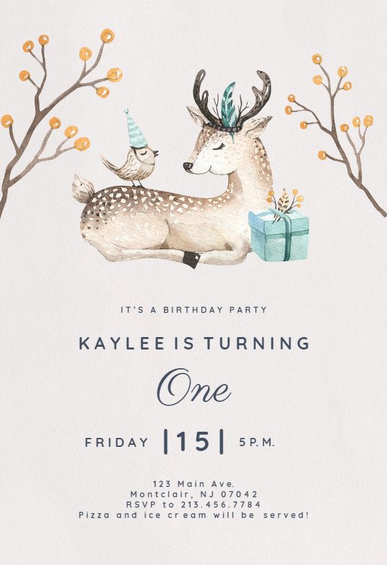 Customize Add Text And Photos Print Download Send Online For Free Invitations Printable Diy Template Birthday Birthdayinvitations Freetemplates