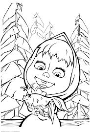 картинки по запросу маша и медведь раскраска Bear Coloring